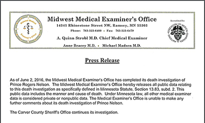 midwest medical examiner's office